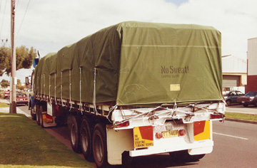 Truck Cover 1 by G.C. Sutherland Canvas Goods