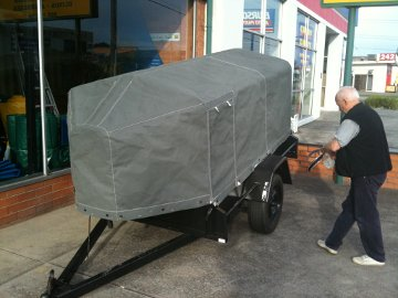 Custom Trailer Canopy by G.C. Sutherland