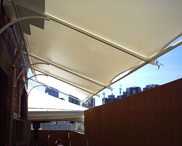 South Melbourne Awnings by G.C. Sutherland Canvas Goods